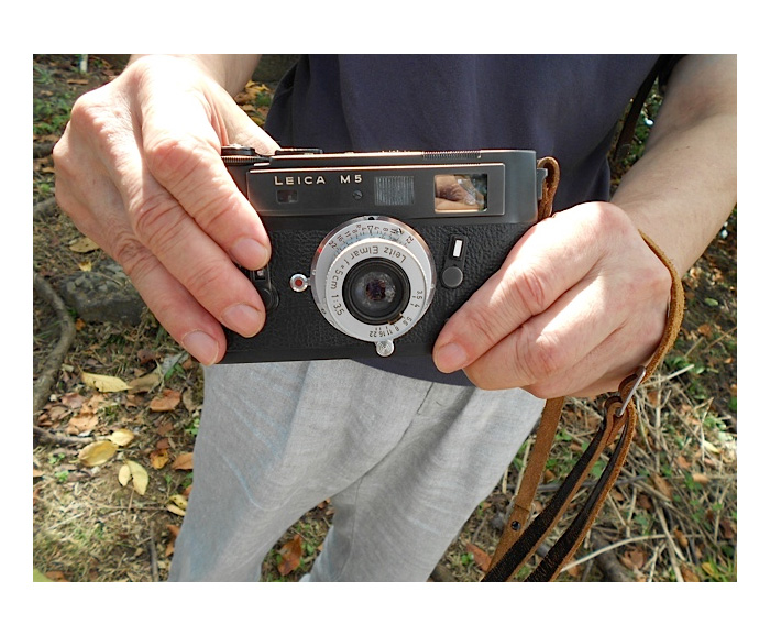 Kazuo Kitai and his Leica M5
