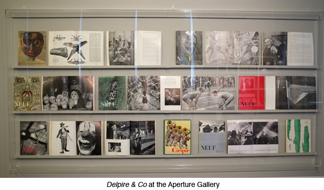 Delpire & Co. at Aperture Gallery, May 2012