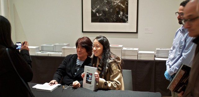 Daido Moriyama. Color Book Signing, International Center of Photography, May 3, 2012