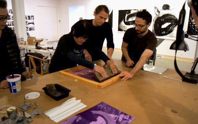 Daido Moriyama. Printing Show - TKY, Aperture Gallery, November 7-12, 2011