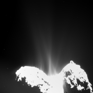 d1 -Comet_activity_10_September_2014 Credits ESA-Rosetta-MPS for OSIRIS Team MPS-UPD-LAM-IAA-SSO- INTA-UPM-DASP-IDA