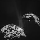d5 - Comet_on_26_September_NavCam Copyright ESA-Rosetta-NAVCAM