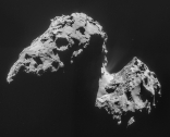 d6-Comet_on_17_November_NavCam Copyright ESA-Rosetta-Philae-ROLIS-DLR