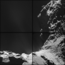 d9-Comet_on_18_October_NavCam Copyright ESA-Rosetta-NAVCAM