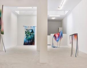 #EVIDENCE, overview solo exhibition at Gallery BoetzelaerINispen, Amsterdam (photo credit: Pim Top)