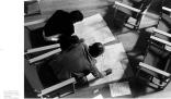Claudio Abbado works with Luigi Nono on 'Prometeo' scores, 1984 © courtesy Contrasto/Roberto Masotti