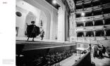 Rehearsals for Rossini's 'Il Barbiere di Siviglia' with Ruggero Raimondi on the stage, Teatro Comunale di Ferrara, Ferrara, Italy 1995 © courtesy Contrasto/Marco Caselli Nirmal