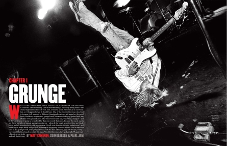 From the book 'The '90s: The Inside Stories from the Decade That Rocked', 2011 by The Editors of Rolling Stone - image by Charles Peterson (Nirvana, Vancouver, 1991)