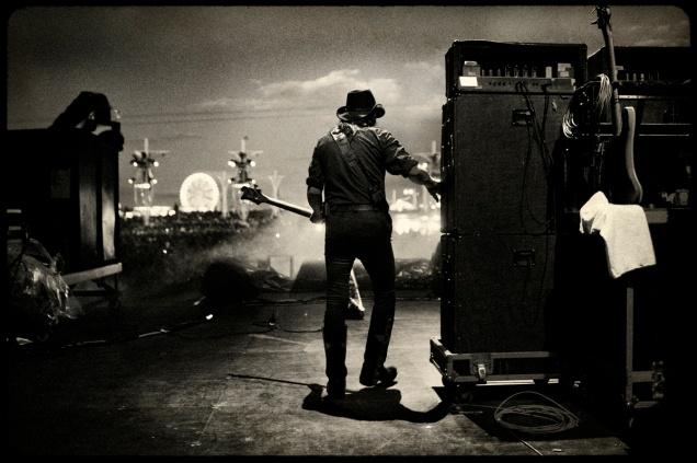 Lemmy at Rock in Rio Madrid, Spain 2010 © courtesy of Pep Bonet/Noor agency