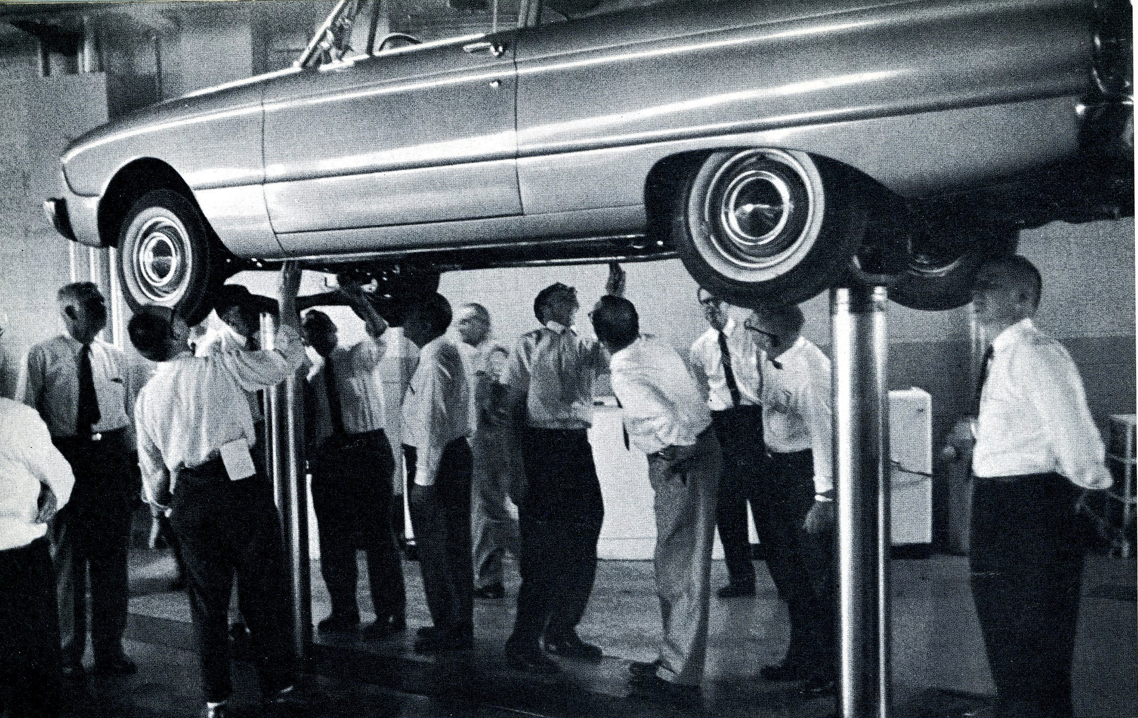 Ford motor company report 1959 monsters madonnas for Ford motor company annual report