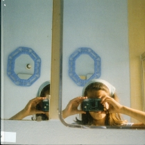 Women With Cameras (Self Portrait), Anne Collier, 2018