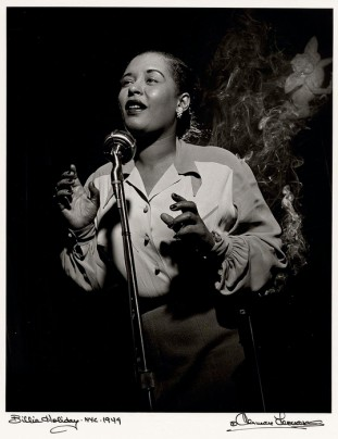 Herman Leonard, Billie Holiday, NYC, 1949