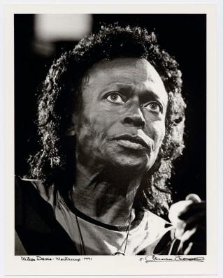 Herman Leonard, Miles Davis, Monteux, 1991